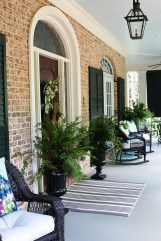 Comfy Porch Design Ideas For Backyard 36