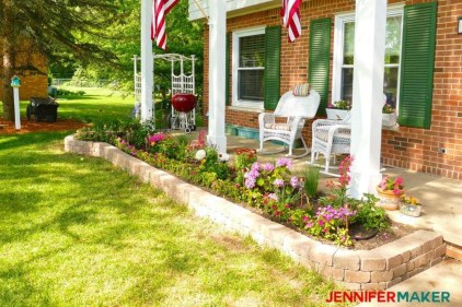 Gorgeous Front Yard Retaining Wall Ideas For Front House 37