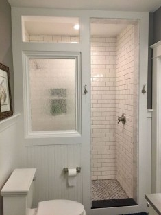 Awesome Bathroom Shower Ideas For Tiny House 14