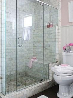 Awesome Bathroom Shower Ideas For Tiny House 23