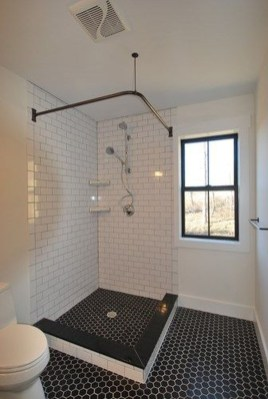 Awesome Bathroom Shower Ideas For Tiny House 34