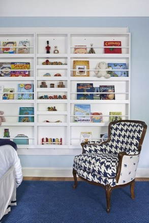 Cozy Bookcase Ideas For Kids Room 37