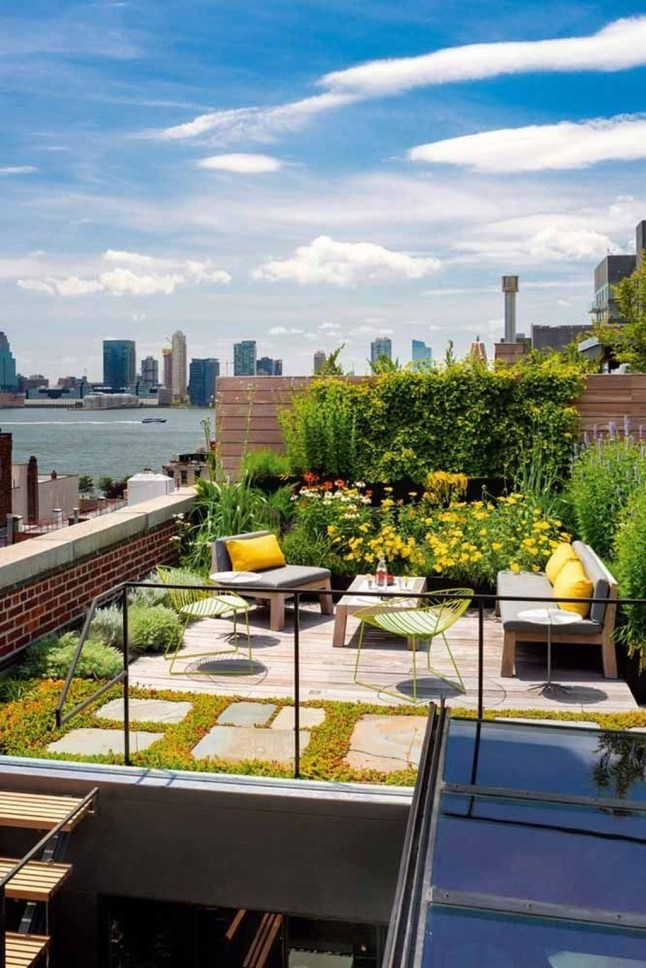 Stunning Roof Terrace Decorating Ideas That You Should Try 15