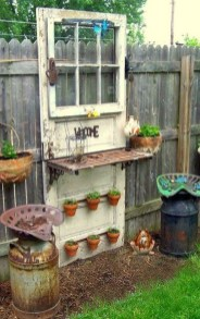 Unique Old Furniture Repurposing Ideas For Yard And Garden 22