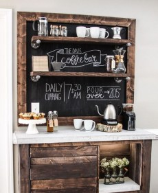 Affordable Diy Mini Coffee Bar Design Ideas For Home Right Now 01