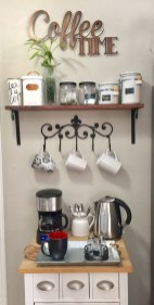Affordable Diy Mini Coffee Bar Design Ideas For Home Right Now 04