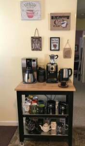 Affordable Diy Mini Coffee Bar Design Ideas For Home Right Now 41