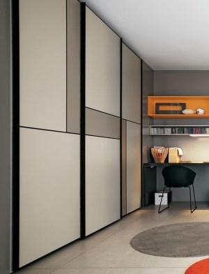 Amazing Sliding Door Wardrobe Design Ideas 07