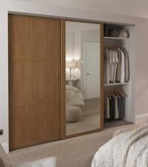 Amazing Sliding Door Wardrobe Design Ideas 18