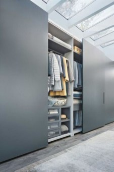 Amazing Sliding Door Wardrobe Design Ideas 31