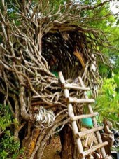 Captivating Treehouse Ideas For Children Playground 02