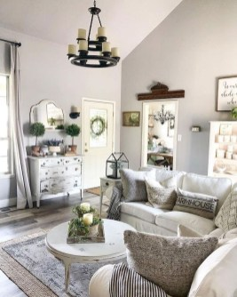 Hottest Farmhouse Living Room Decor Ideas That Looks Cool 25