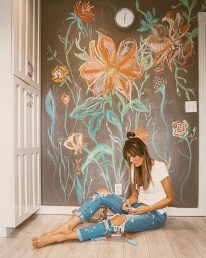 Latest Wall Painting Ideas For Home To Try 30