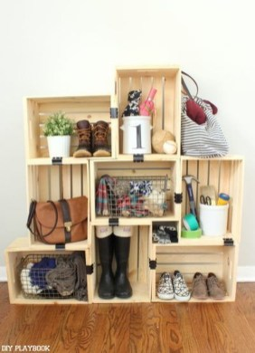 Perfect Storage Ideas For Your Apartment Decoration 06