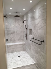 Relaxing Master Bathroom Shower Remodel Ideas 32