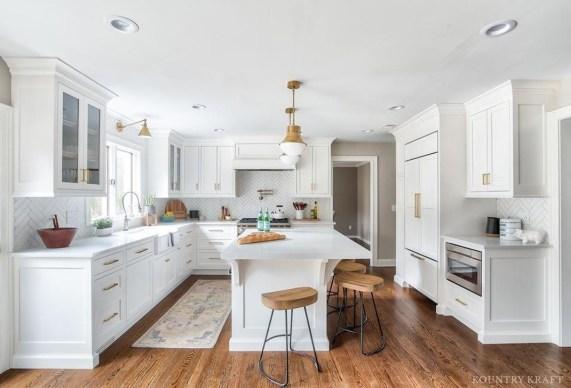 Unusual White Kitchen Design Ideas To Try 15
