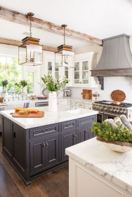 Unusual White Kitchen Design Ideas To Try 48