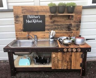 Chic Diy Projects Pallet Kitchen Design Ideas To Try 12