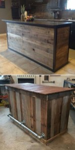 Chic Diy Projects Pallet Kitchen Design Ideas To Try 21