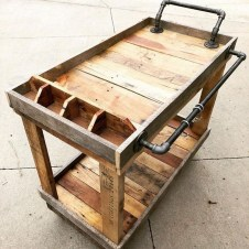 Chic Diy Projects Pallet Kitchen Design Ideas To Try 32