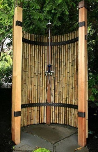 Dreamy Bamboo Fence Ideas For Small Houses To Try 33