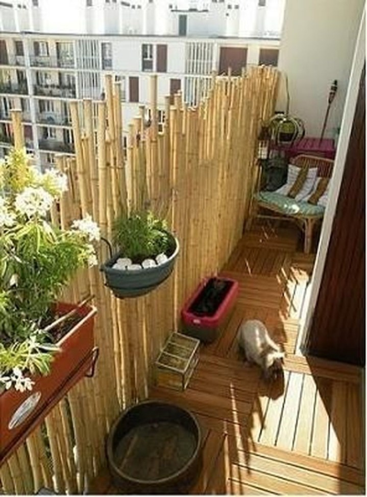 Dreamy Bamboo Fence Ideas For Small Houses To Try 40