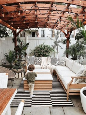 Elegant Backyard Patio Design Ideas For Your Garden 16