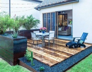 Elegant Backyard Patio Design Ideas For Your Garden 27