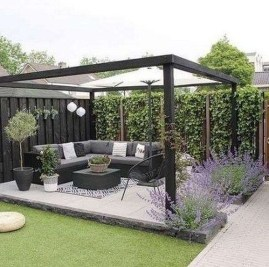 Elegant Backyard Patio Design Ideas For Your Garden 42