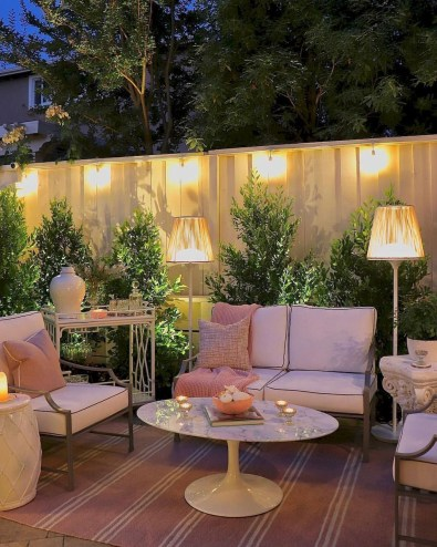 Elegant Backyard Patio Design Ideas For Your Garden 52