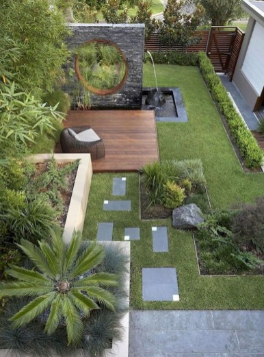 Gorgeous Backyard Landscaping Ideas For Your Dream House 08