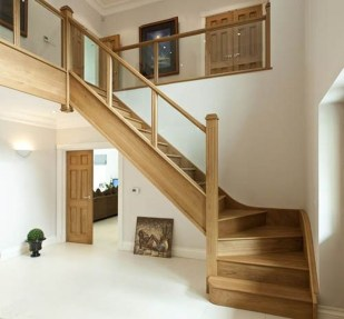 Gorgeous Wooden Staircase Design Ideas For Branching Out 28
