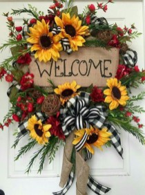 Hottest Summer Wreath Design And Remodel Ideas 38