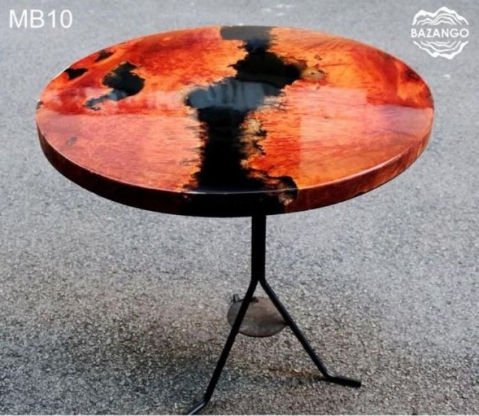Impressive Home Furniture Ideas With Resin Wood Table 27