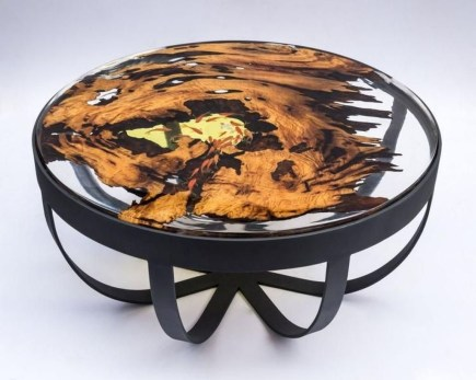 Impressive Home Furniture Ideas With Resin Wood Table 30