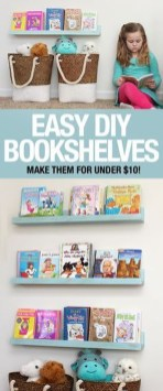 Latest Diy Bookshelf Design Ideas For Room 03