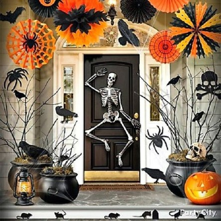 Newest Diy Outdoor Halloween Decor Ideas That Very Scary 24