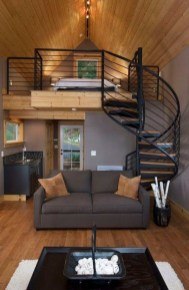 Rustic Tiny House Interior Design Ideas You Must Have 14