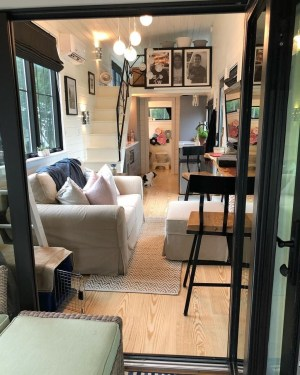 Rustic Tiny House Interior Design Ideas You Must Have 25
