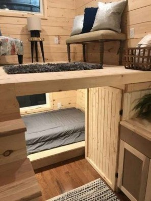 Rustic Tiny House Interior Design Ideas You Must Have 33