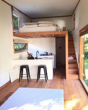 Rustic Tiny House Interior Design Ideas You Must Have 42