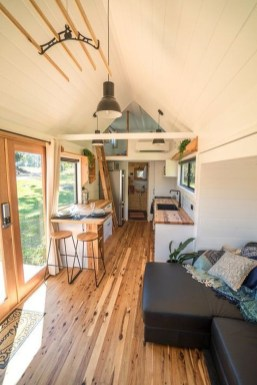 Rustic Tiny House Interior Design Ideas You Must Have 45