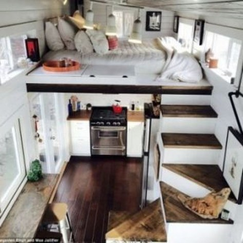 Rustic Tiny House Interior Design Ideas You Must Have 51