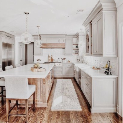 Trendy Fixer Upper Farmhouse Kitchen Design Ideas 01