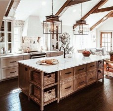 Trendy Fixer Upper Farmhouse Kitchen Design Ideas 05