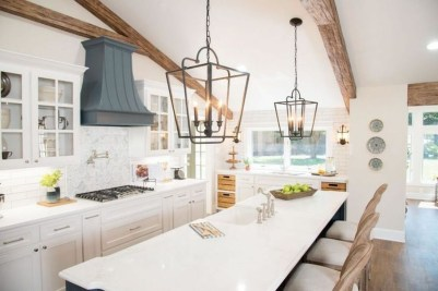 Trendy Fixer Upper Farmhouse Kitchen Design Ideas 15