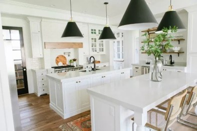 Trendy Fixer Upper Farmhouse Kitchen Design Ideas 47