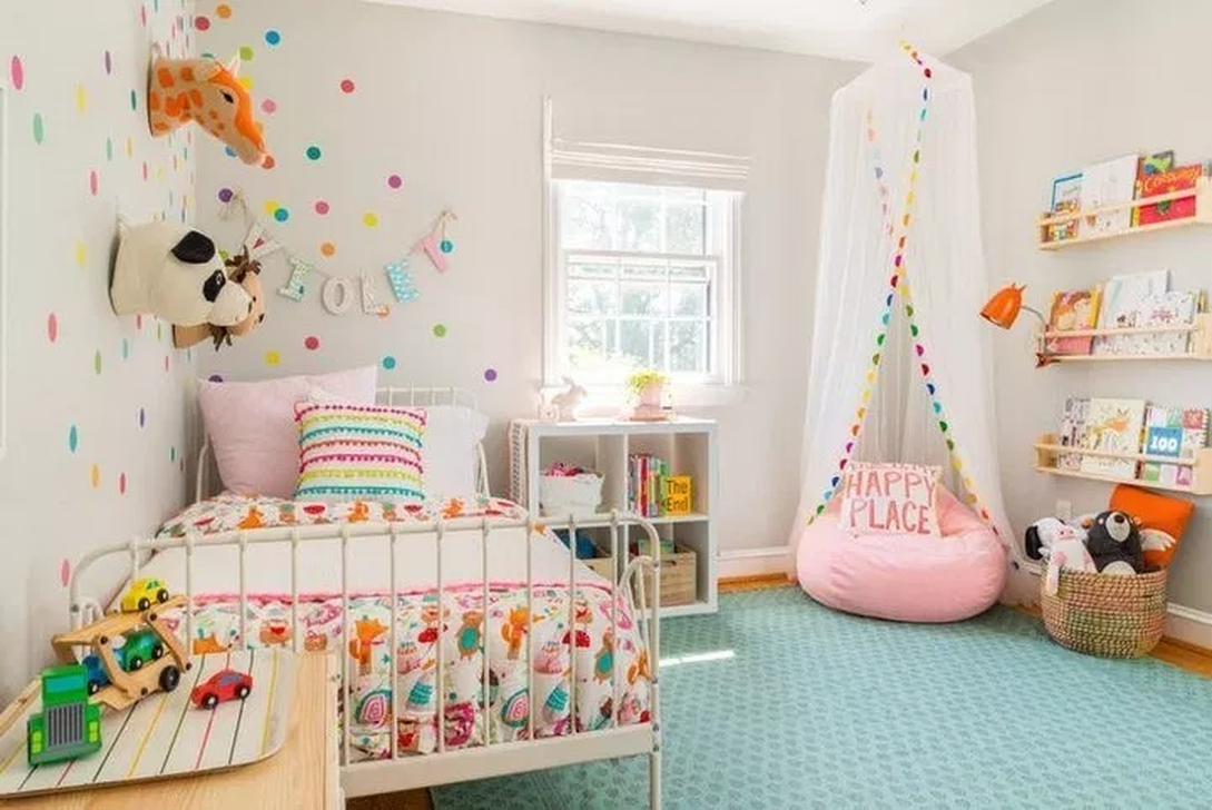20+ Vintage Girls Bedroom Ideas For Small Rooms To Try ... on Small Room Ideas For Girls  id=76859