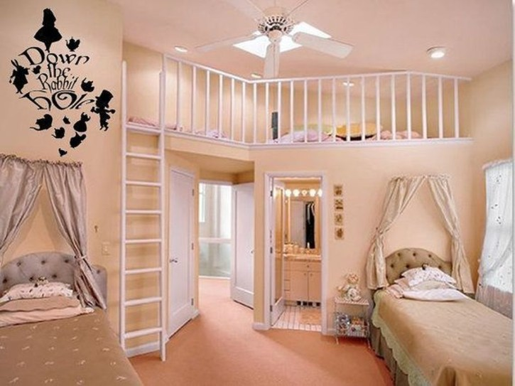 Vintage Girls Bedroom Ideas For Small Rooms To Try 40