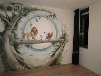 Adorable Disney Room Design Ideas For Your Childrens Room 09